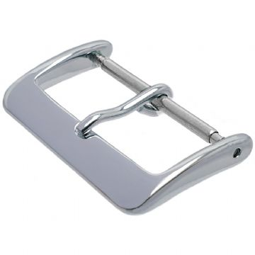 28mm Chrome Watch Strap Buckle